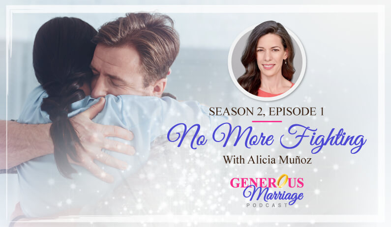 Season 2, Episode 1 – No More Fighting – With Alicia Muñoz