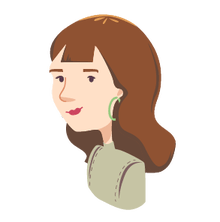 lady with earings